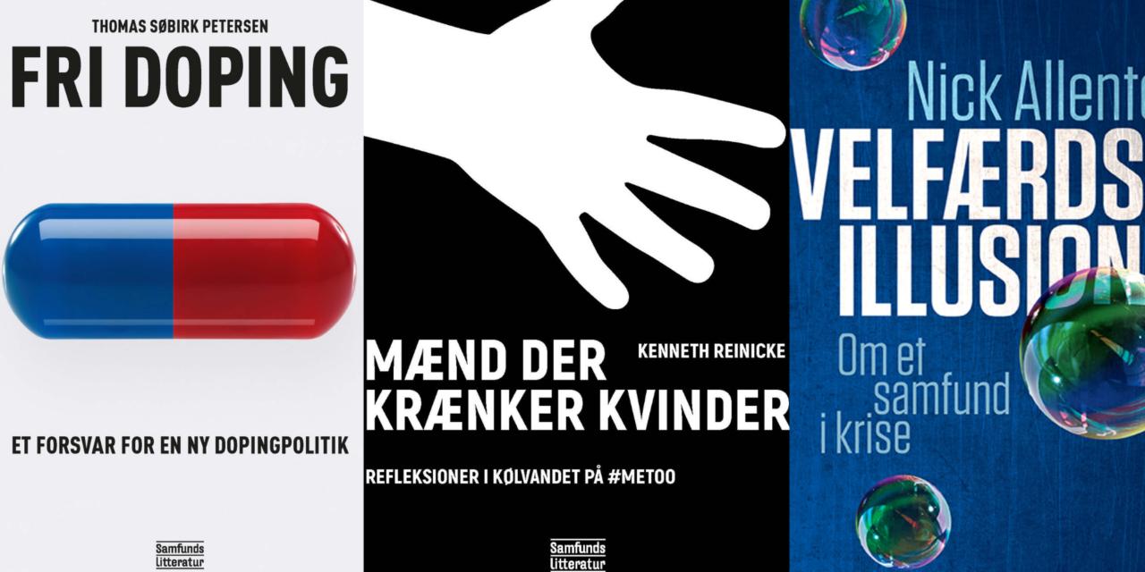Savner du læsestof til vinterferien? Her er tre debatbøger, du kan fordybe dig i.